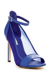 Bcbgeneration Natalee Open Toe Ankle Strap Pump Blue