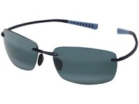 Maui Jim Kumu Blue Neutral Grey Polarized Fashion Sunglasses Navy