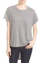 The Great Women's Great. 'The Shirttail' High Low Tee