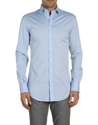 Dandg D And G Long Sleeve Shirts Sky Blue