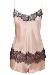 Alice By Temperley Somerset By Alice Temperley Mia Cami And Short Silk Pyjama Set Blush