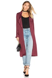 Lovers Friends X Revolve Jackson Duster Wine