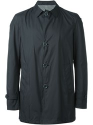 Herno Single Breasted Coat Black