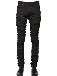 Diesel Black Gold 16.5Cm 3D Extra Long Stretch Denim Jeans