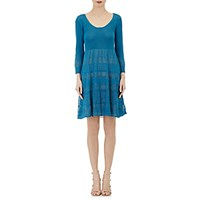 Philosophy Di Alberta Ferretti Women's Pointelle Knit Dress Size 0 Us No Color
