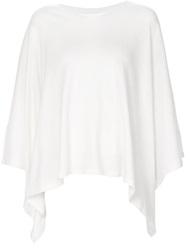 Majestic Filatures Poncho Sweater White