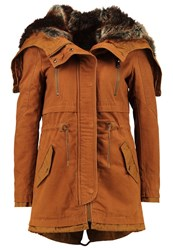 Only Petite Onlbarbara Parka Rubber Sand