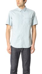 Steven Alan Short Sleeve Jasper Shirt Extra Bleach
