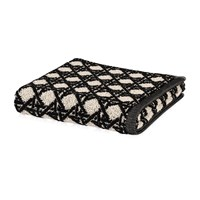 Moeve Vienna Mesh Towel Black Bath Towel