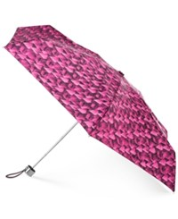 Totes Neverwet Manual Umbrella Gift Set Fuschia Prism