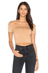 House Of Harlow X Revolve Lola Crop Beige