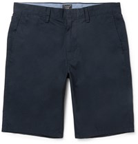J.Crew Slim Fit Cotton Shorts Blue