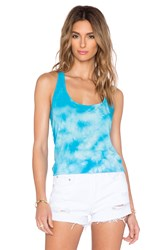 Candc California Crystal Wash Tank Blue