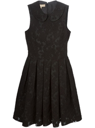 Michael Kors Peter Pan Collar Embroidered Dress
