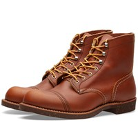 Red Wing Shoes 8112 Heritage 6 Iron Ranger Boot Brown