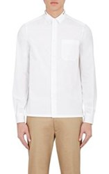 Valentino Men's Studded Collar Shirt White