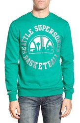 Men's Mitchell And Ness 'Seattle Supersonics' Tailored Fit Fleece Sweatshirt