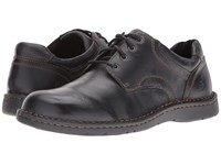 Born Howard Black Full Grain Leather Men's Lace Up Casual Shoes