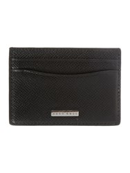 Hugo Boss Signature Card Case Holder Black