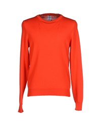 S.O.H.O New York Soho Knitwear Jumpers Men Red