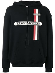 Represent The North Hoodie Black