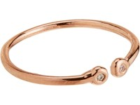 Loren Stewart Women's Diamond And Gold Cuff Ring No Color