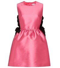 Red Valentino Lace Up Dress Pink