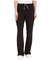 Jockey Modern Convertible Drawstring Waist Pants Black Women's Casual Pants