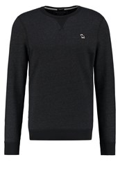 Abercrombie And Fitch Muscle Fit Sweatshirt Black