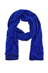 Coast Janey Diamante Scarf Blue
