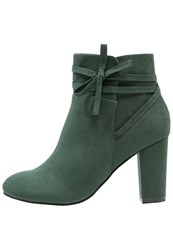 Anna Field Ankle Boots Olive Dark Green