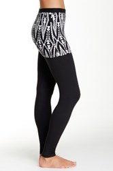 Magid Printed Skirt Overlay Legging Multi