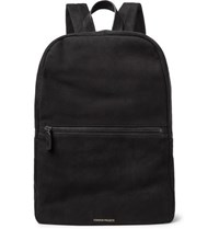 Common Projects Suede Backpack Black