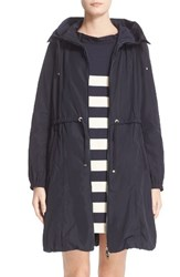 Moncler Women's Tuile Water Resistant Long Raincoat