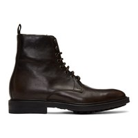 Paul Smith Brown Arno Boots