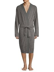 Ugg Kent Heathered Robe Blue Heather