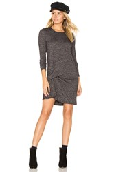 Riller And Fount Olive Pinched Front Dress Charcoal