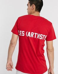Les Artists Art Ists Essential T Shirt In Red