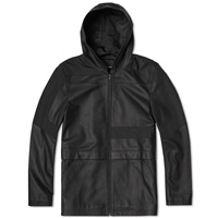T By Alexander Wang Panel Insert Leather Jacket Matrix