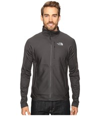The North Face Fuseform Dolomiti Full Zip Asphalt Grey Fuse Men's Long Sleeve Pullover Black
