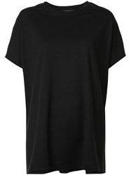 Y's Loose Fit T Shirt Black