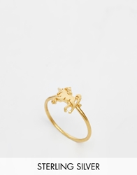 Dogeared Gold Plated Life Is Magical Unicorn Ring