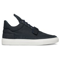 Filling Pieces Navy One Strap Low Top Sneakers Blue