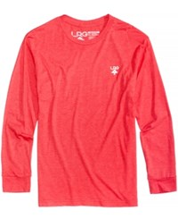 Lrg Men's The Underground Long Sleeve T Shirt Red