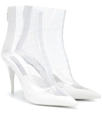 Stella Mccartney Transparent Ankle Boots White