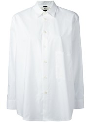Hope Buttoned Shirt Women Cotton 38 White