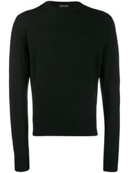 Tom Ford Crew Neck Slim Jumper Black