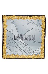 Moschino Women's Golden Edge Silk Scarf