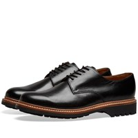 Grenson Curt Derby Shoe Black