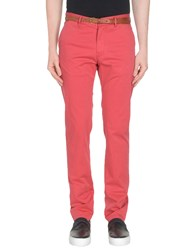 Scotch And Soda Casual Pants Brick Red
